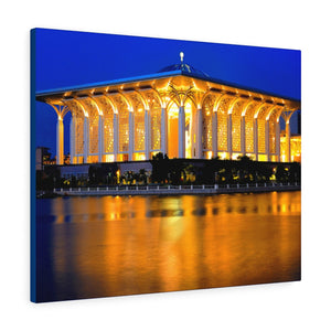 Printed in USA - Canvas Gallery Wraps - The Tuanku Mizan Zainal Abidin Mosque - Malaysia - Islam