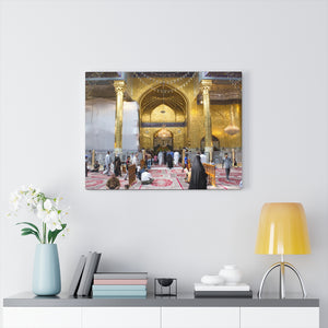 Printed in USA - Canvas Gallery Wraps - The Mosque of Imam Abbas - Karbala - Iraq  - Islam