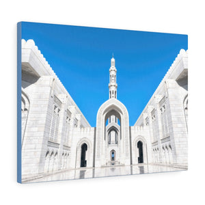 Printed in USA - Canvas Gallery Wraps - Sultan Qaboos Grand Mosque, Muscat, Oman - Islam