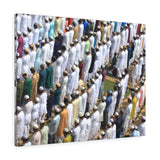 Printed in USA - Canvas Gallery Wraps - Kolkata, West Bengal, India - 7/18/2015 - Muslim prayer - Islam