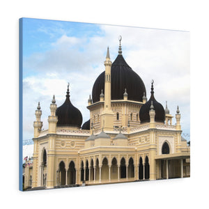 Printed in USA - Canvas Gallery Wraps - Mosque in the Alor Star, Kedah, Malaysia - Islam