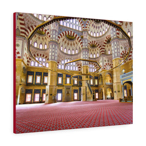 Printed in USA - Canvas Gallery Wraps - Sabanci Central Mosque interior - Turkey - Islam