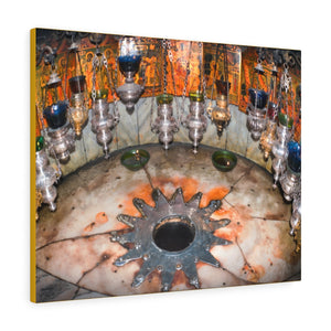 Printed in USA - Canvas Gallery Wraps - Bethlehem Church of the Nativity Basilic - Jesus Christ - Christianity