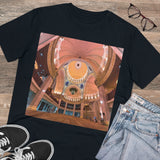 Organic Creator T-shirt - EU Print  - Unisex - Awesome interiors/entrances of Mosques - ISLAM