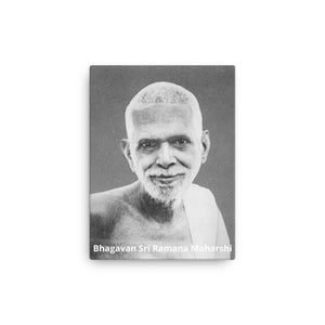 Canvas - Bhagavan Sri Ramana Maharshi - CV-RM-2007 IMAGES OF GOD