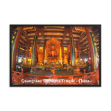 Framed matte paper poster - Guangxiao Buddhist Temple - China IMAGES OF GOD