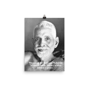 Poster - Bhagavan Sri Ramana Maharshi - PO-RM-2102 IMAGES OF GOD