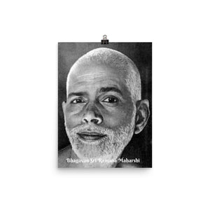 Poster - Bhagavan Sri Ramana Maharshi - PO-RM-2204 IMAGES OF GOD