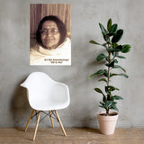 Poster - Hindu Saint Ananda Mayi Ma - or Bliss permeated Mother - ID-MA-1030 IMAGES OF GOD