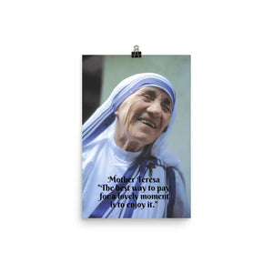 Poster - Mother Teresa of Calcutta - Saint - Catholic Church IMAGES OF GOD