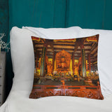 Premium Pillow- Guangxiao Buddhist Temple - China IMAGES OF GOD