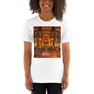 Short-Sleeve Unisex T-Shirt - Guangxiao Buddhist Temple - China IMAGES OF GOD