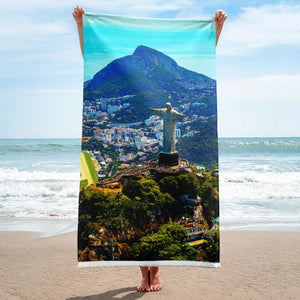 Towel - Cristo Redentor - Brazil - Christianity IMAGES OF GOD