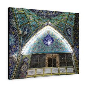 Printed in USA - Canvas Gallery Wraps - The shrine of Imam Abbas - Iraq - Islam
