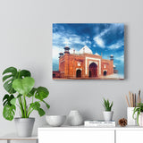 Printed in USA - Canvas Gallery Wraps - Masjid mosque near Taj Mahal in India - Islam