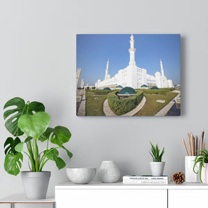 Printed in USA - Canvas Gallery Wraps - White Grand Sheikh Zayed Mosque -  UAE - Islam