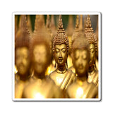 US Made - Magnets - for Buddhists to Remember the Buddha -- for a BLESSED Home - Buddhas in Thai temple