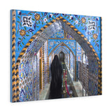 Printed in USA - Canvas Gallery Wraps - The shrine of Imam Hussein, Iran - Islam
