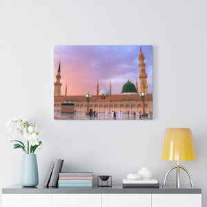Printed in USA - Canvas Gallery Wraps - Prophet Mohammed Mosque, Al Masjid an Nabawi - Medina - UAE - Islam