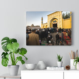 Printed in USA - Canvas Gallery Wraps - Id Kah Mosque Kashgar, Xinjiang province - western China - Islam