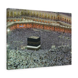 Printed in USA - Canvas Gallery Wraps - Great Mosque of Mecca - Islam religion - UAE