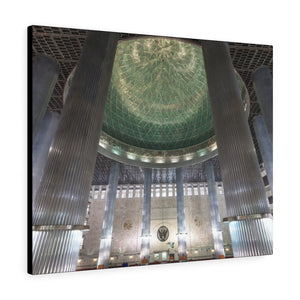 Printed in USA - Canvas Gallery Wraps - Istiqlal Mosque  JAKARTA, INDONESIA - Islam