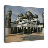 Printed in USA - Canvas Gallery Wraps - The Crystal Mosque or Masjid Kristal in Kuala Terengganu,  Malaysia - Islam