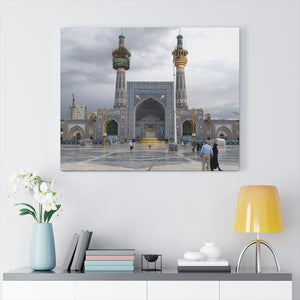 Printed in USA - Canvas Gallery Wraps - Kocatepe Mosque - Turkey - Islam