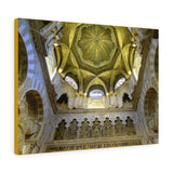 Printed in USA - Canvas Gallery Wraps - Mosque and Cathedral of Our Lady of the Assumption - Andalusia, Spain- Islam