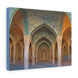 Printed in USA - Canvas Gallery Wraps - Vakil Mosque in Shiraz Iran - Islam