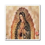 US Made - Magnets - for Christians to Remember our Saints and History -- for a BLESSED Home - Our Lady of Guadalupe