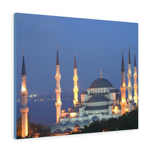 Printed in USA - Canvas Gallery Wraps - Çamlıca Republic Mosque - Capacity 63,000 - Islam religion - Istambul Turkey