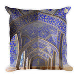 Premium Pillow - Entrace to The Blue Mosque - Istambul - Islam