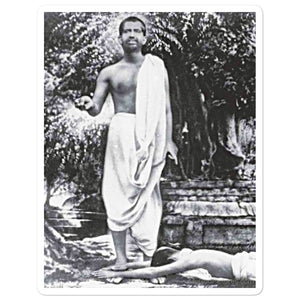 Bubble-free stickers - Sri Ramakrishna - Hinduism