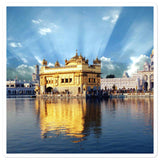 Bubble-free stickers - The Golden temple - India - Hinduism - Siksm
