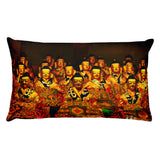 Premium Pillow - Buddhas assembly - From Tibetan Monastery
