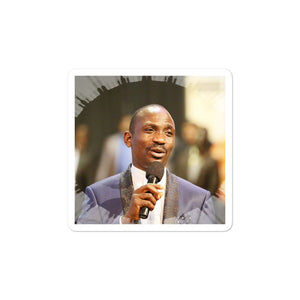 Bubble-free stickers - Pastor Paul Enenche - Ghana - Africa - Christianity