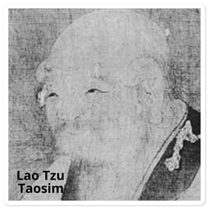 Bubble-free stickers - Lao Tzu - Taosim the natural path of existence - China