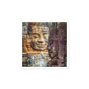 Bubble-free stickers - Angkor Wat - Buddhism
