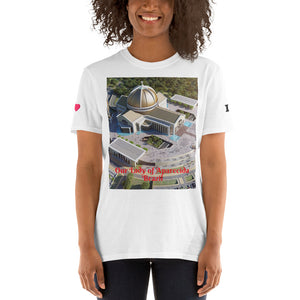 Gildan 64000 UX - Short-Sleeve Unisex T-Shirt - the National Shrine of Our Lady Aparecida - Sao Paulo - Brazil - South America - Catholicsm