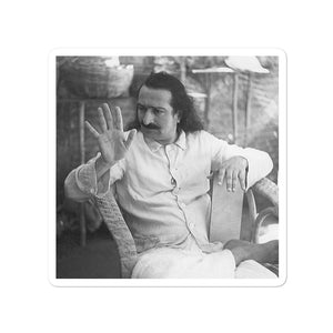 Bubble-free stickers - The Mouni Meher Baba - The power of silent Love of God - Islam and Hinduism
