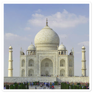 Bubble-free stickers  - Taj Mahal - the Greatest Moslem art in India - Hinduism - Islam