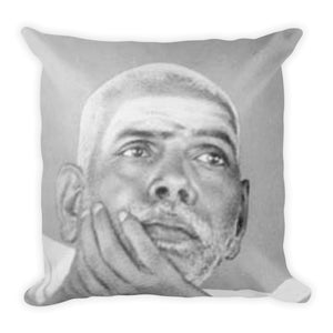 Premium Pillow - Sri Ramana Maharishi - In the peace of Nirvana