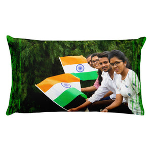 Premium Pillow - Celebration of the Independence of India in August 15 - Hinduism
