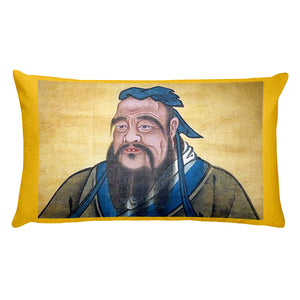 Premium Pillow - The first great Teacher - Confucius - Ceremony on his name - China