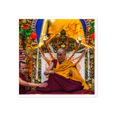 Bubble-free stickers - The Dalai Lama - Tibetan Buddhism