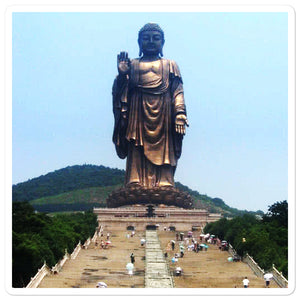 Bubble-free stickers - Grand Buddha as Lingshan - Buddhism