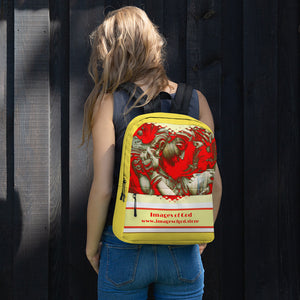 Lowest cost Backpack - With Images of God Logo - spread love all around! - Hinduism
