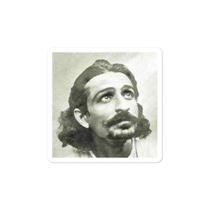 Bubble-free stickers - Silent Yogi Meher Baba - Islam and Hinduism