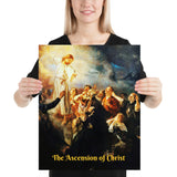 "Poster -  ""The Ascension of Christ"" -  painting by Uhde."